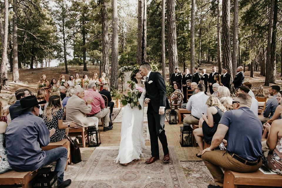 Campsite Wedding at a Glance